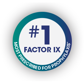#1 FACTOR IX CHOICE WHEN CHANGING THERAPY*